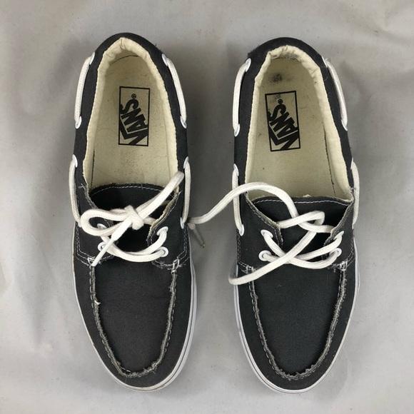 Vans Topsider Boat Shoe Mens 9 Womens 5